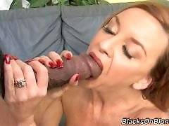 Janet Mason Returns  - blacks on blondes