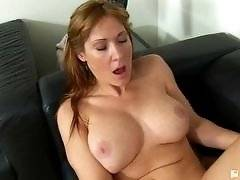 Her First Lesbian Sex. Angela James