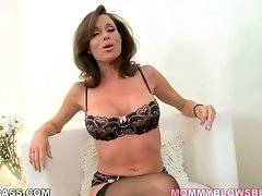 This hot mommy confesses she enjoys blowing dicks.