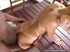 Kelly Gets Big Booty Bumped!  - black dick round ass