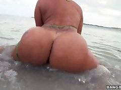Of course a big dick is thrown in the mix for some hardcore ass pounding outdoor action.